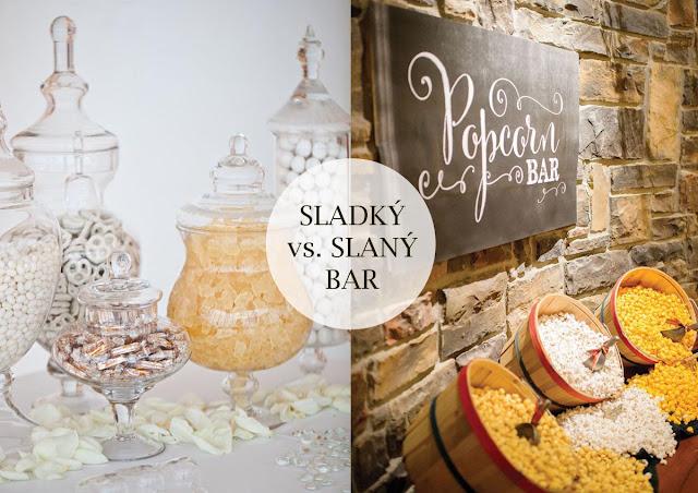 Připravte sladký i slaný bar pro své hosty