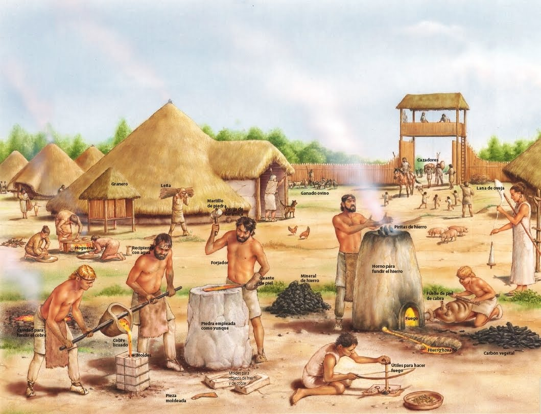 a day in life of a farmer during the neolithic revolution The neolithic revolution can be characterized as a slow, but creative process that marked the beginning of civilization by way of the transformation from a nomadic hunter-gatherer to a settled, agricultural, and production based means of living.