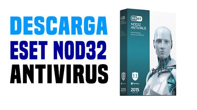 DESCARGAR ESET NOD32 ANTIVIRUS (32-64) BITS
