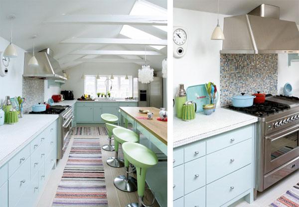 Cocinas de ensue o con colores pastel cocina y muebles - Cocinas de ensueno ...
