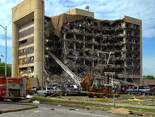 Nothing about how the bombed out federal building looked made sense to bomb experts.