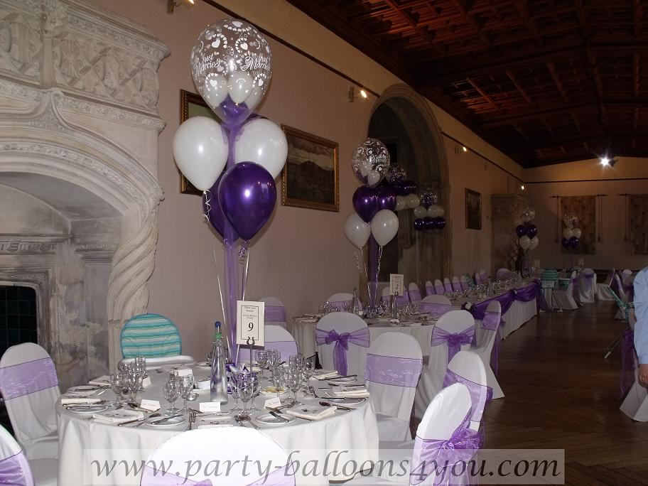 Wedding accessories ideas for Balloon decoration for weddings