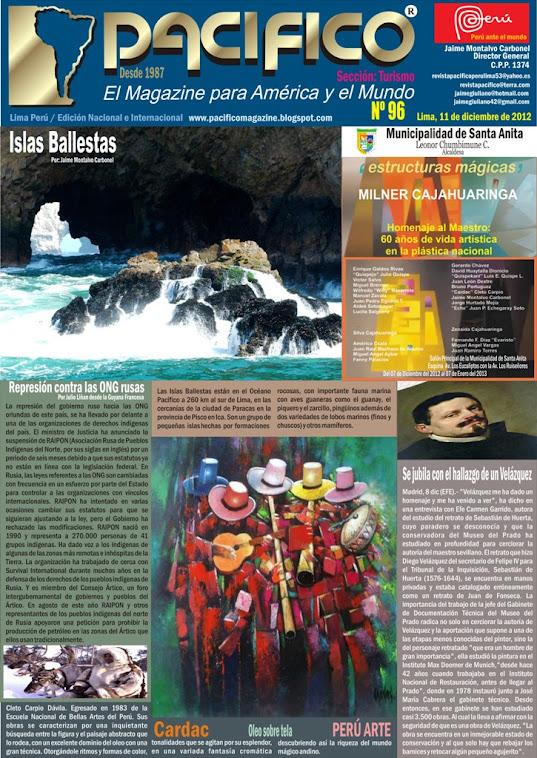 Revista Pacífico Nº 96 Turismo