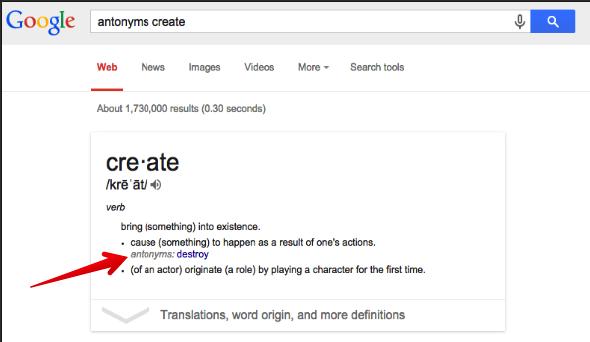 Antonym for the word retrieve