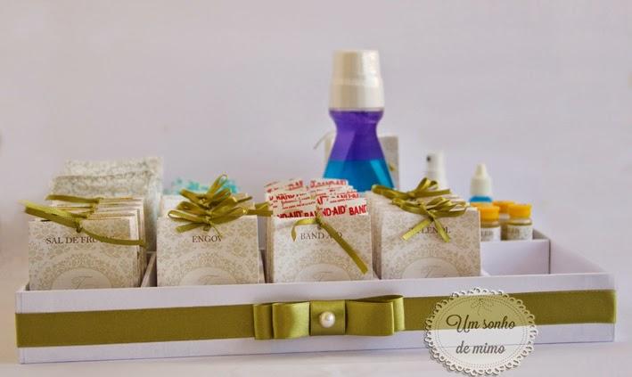 Kit toalete personalizado Um Sonho de Mimo