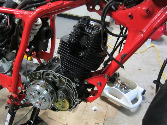 Yamaha Bw Engine Swap
