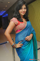 actress anjali hot saree photos at masala telugu movie audio launch+(9) Anjali Saree Photos at Masala Audio Launch