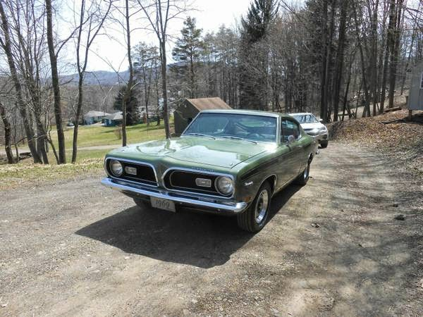 1969 Plymouth Barracuda 340s Fastback For Sale Buy American Muscle Car