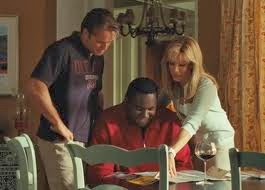 adoption at the movies the blind side adoption movie guide the tuohy family is really excellent they embrace michael quickly and do not abandon him when difficulties strike michael is the driver in an accident