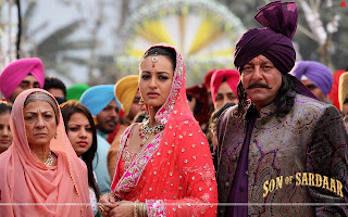 Son Of Sardaar Hot Sonakshi Sinha, Sanjay Dutt Wallpaper