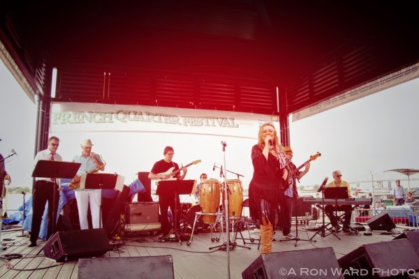 2015 French Quarter Festival The Lena Prima Band