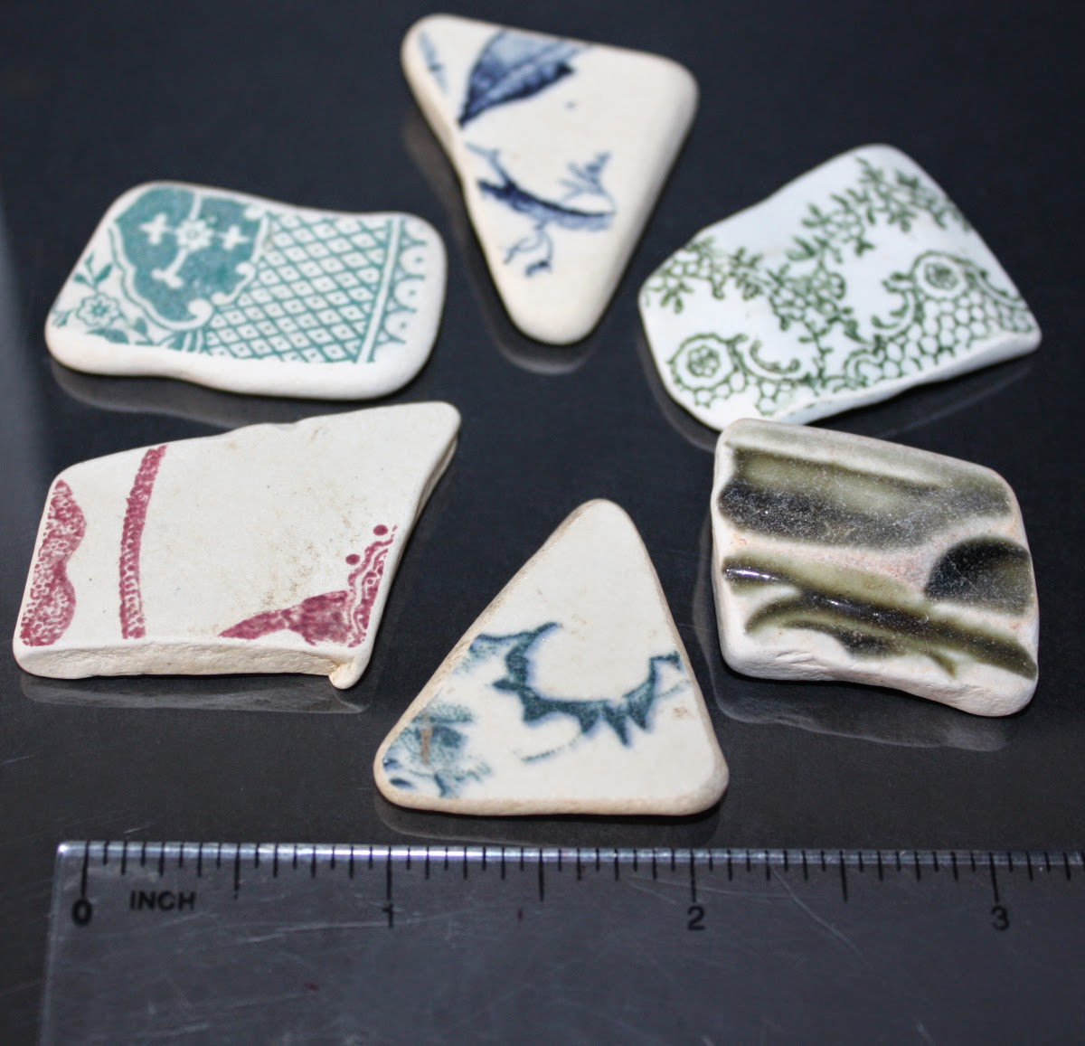 pottery shards