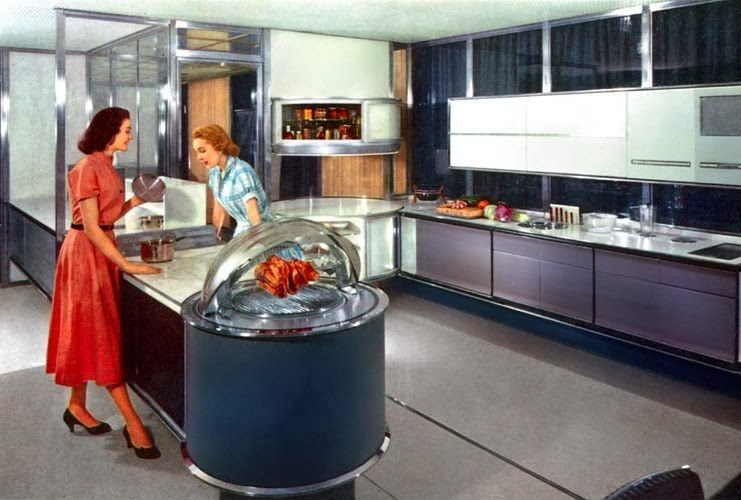 The future kitchen from the 1950's
