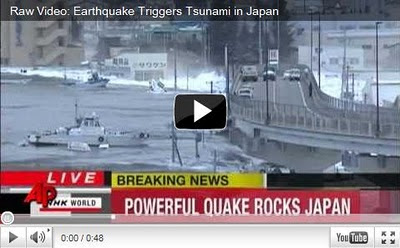 video tsunami jepang