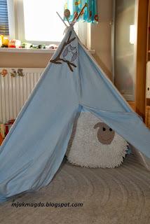 dziecięcy namiot namiot tipi wigwam dla dziecka