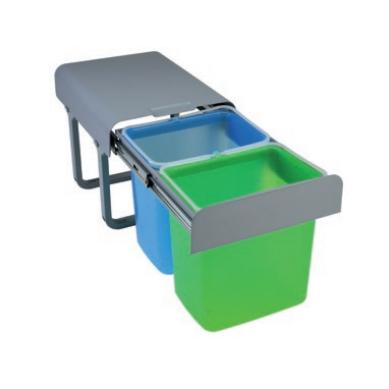 Cubo basura eko 4 opciones tu cocina y ba o - Cubos de basura extraibles ...