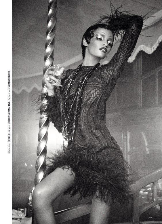 Brittany Michѐle: 20's Fashion: Josephine Baker shoot Josephine S