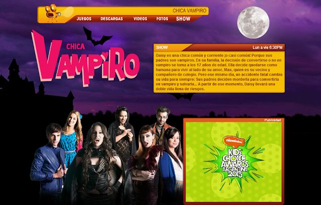 de Mundonick.com, podrás encontrar todo acerca de Chica Vampiro ...