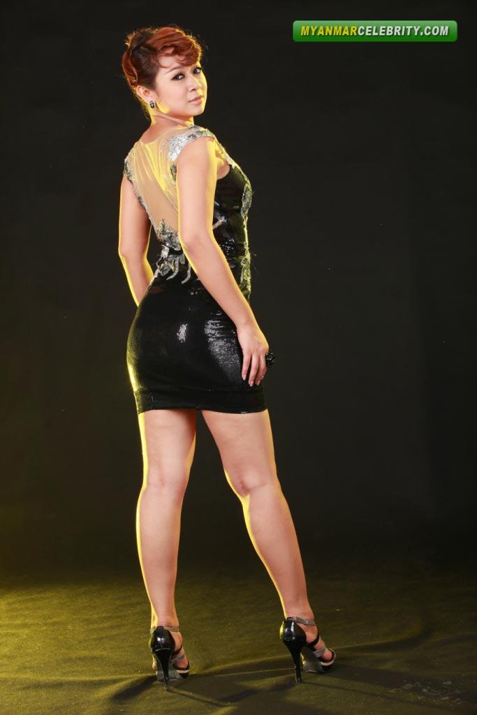 myanmar pussy hot model