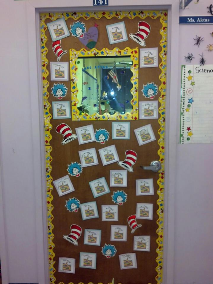 classroom door decorations for winter | just b.CAUSE