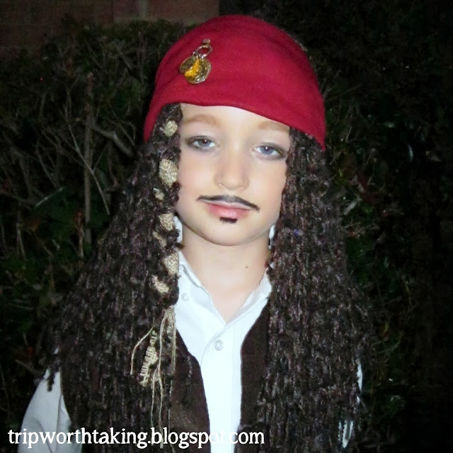 Trip Worth Taking Blog: DIY Captain jack Sparrow Wig
