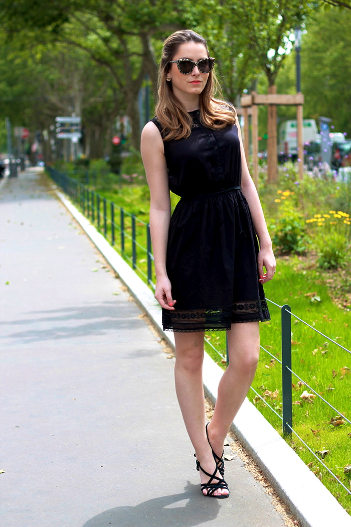 Cute Heels with Short Black Dresses