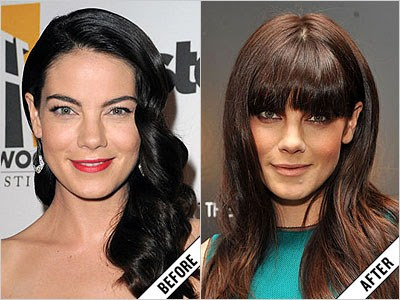 michelle monaghan before and after makeover 11 amazing new celebrity makeovers 2011