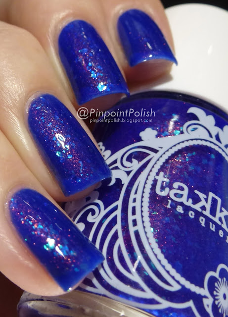 We're All Mad Here, Takko Lacquer, swatch