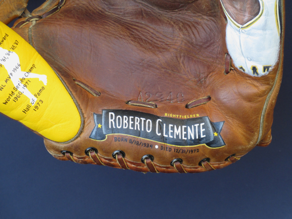 Roberto Clemente Baseball Art by Sean Kane