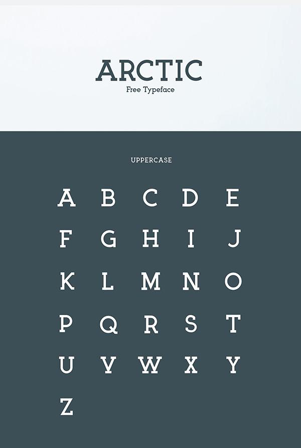 Download Gratis Font Terbaru September 2015 - Arctic Free