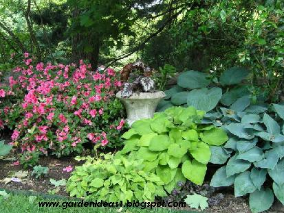 Garden ideas shade garden ideas for Shade garden designs