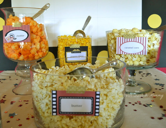 Wreck It Ralph Birthday Express movie party popcorn bar 2