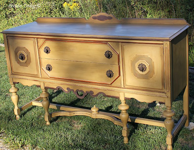 Check out the entire transformation of this buffet here