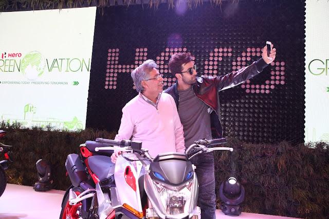 Ranbir Kapoor XF3R Concept Hero MotoCorp