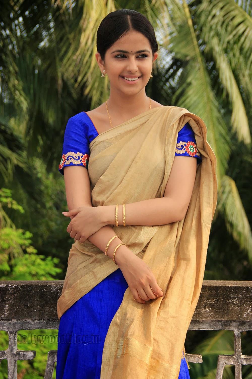 Avika Gaur in Super Cute Salwar Dress Stunning Smile Must See Pics