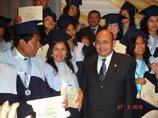 Graduación en la UNP