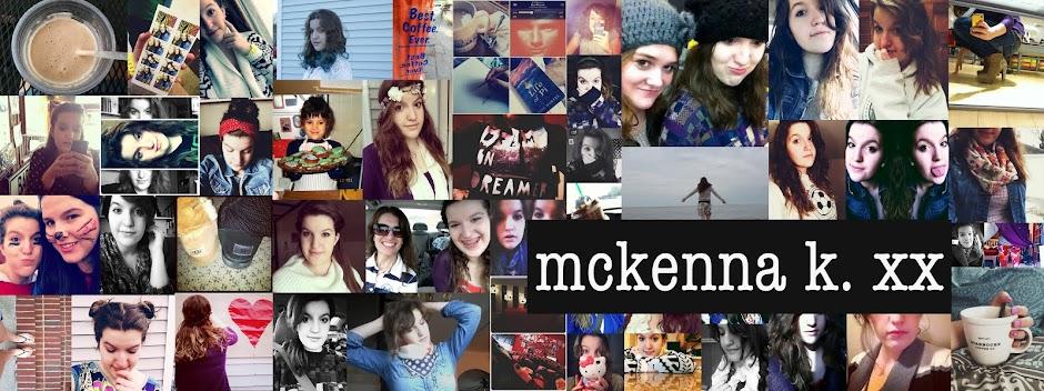 mckenna k. xx