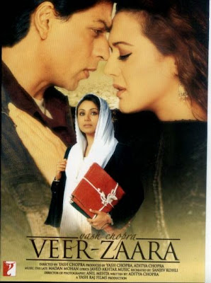 Veer Zaara 2004 Hindi BRRip 480p 500MB