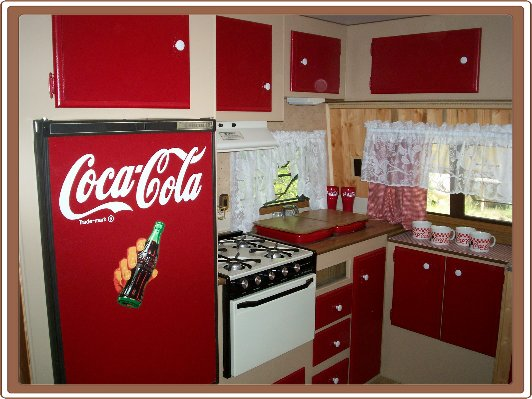 CocaCola Travel Trailer