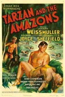 TARZAN E AS AMAZONAS - TARZAN AND THE AMAZONS 1945