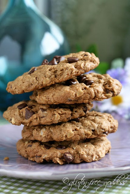 Best gluten-free oatmeal chocolate chip cookies