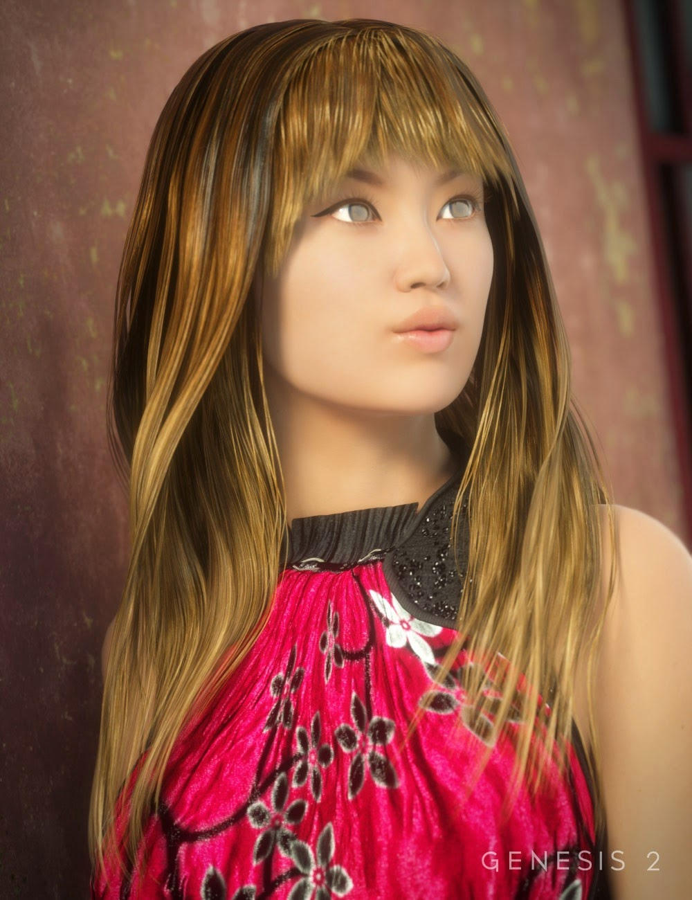Choko cheveux pour Genesis 2 Femme