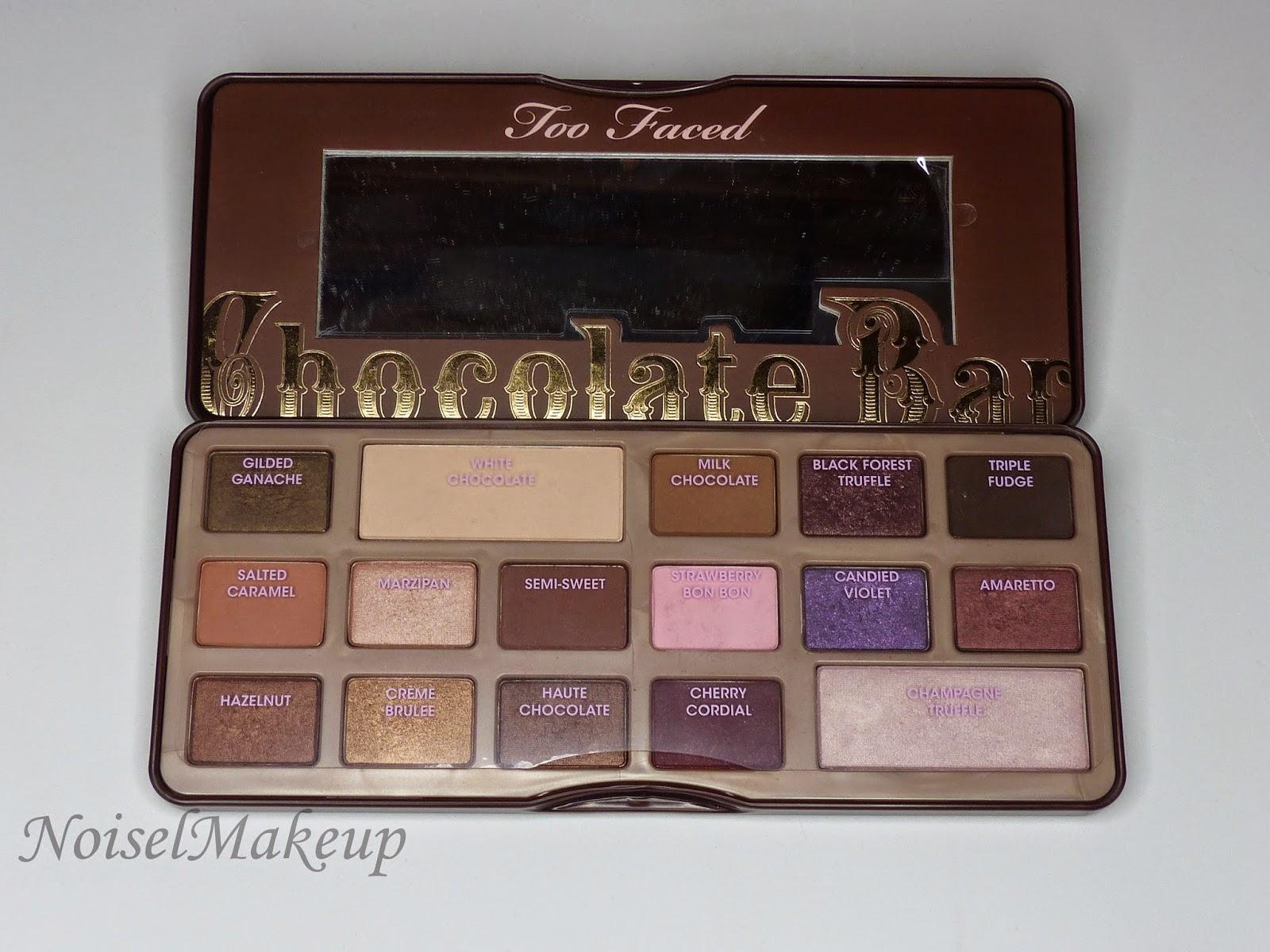 Chocolate Bar La saqué en mi vídeo de favoritos de maquillaje. Me encanta, me parece un básico y es sin duda mi favorita, ya que todos los tonos que tiene