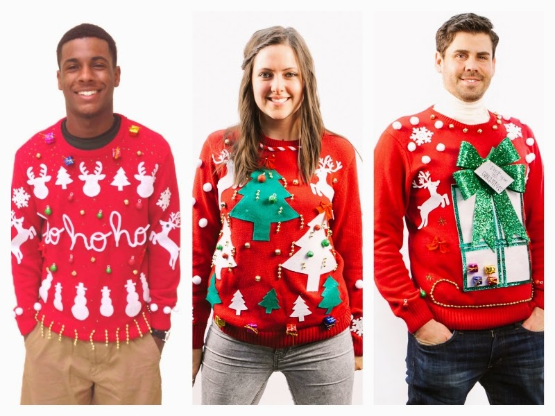 Couples Dig Out Your Ugly Sweaters