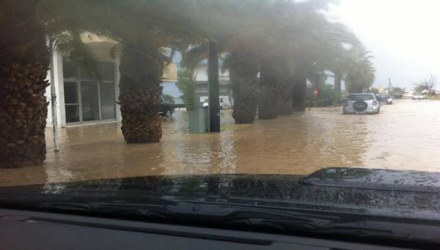 """""""Πνίγηκε"""" όλη η χώρα από τον κατακλυσμό"""