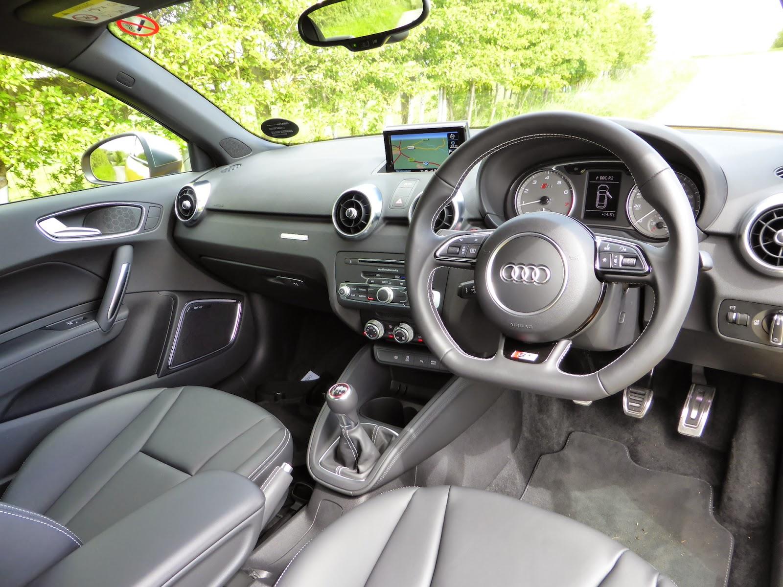 2014 Audi S1 interior