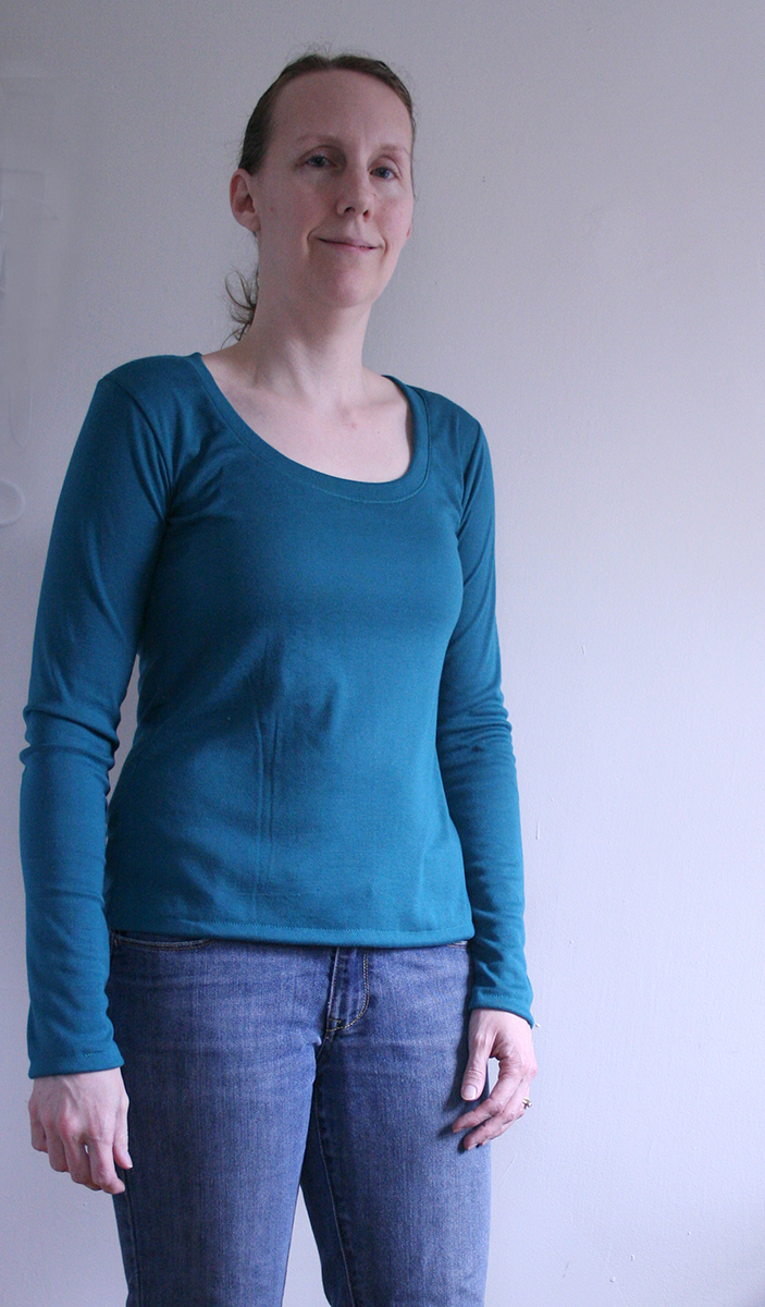 Tangible Pursuits: Plantain Tee for Selfish Sewing Week