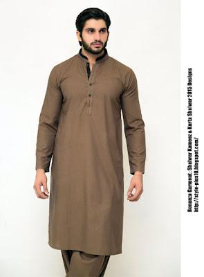 98628-dark-brown-bonanza-shalwar-suit-collection-2015