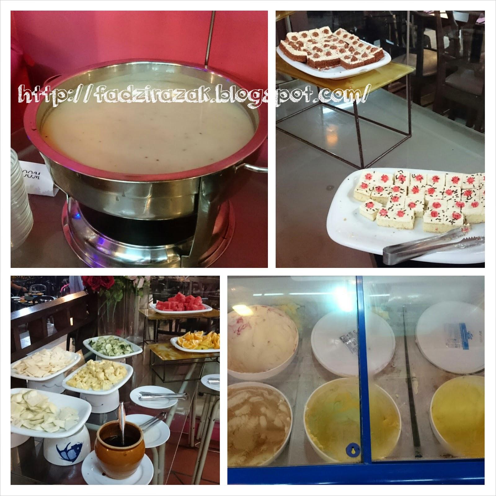 Pencuci mulut Restoran D'Kayangan Steamboat & BBQ