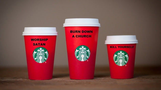 Starbuck's Holiday Cups